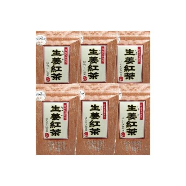 ばんどう紅茶園 生姜紅茶(しょうが紅茶)20袋 x6個 (4560290037774)|daim-store|04