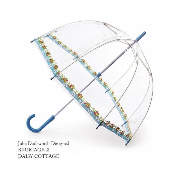 フルトン FULTON フルトン バードケージ かさ 傘 デイジー コテージ 正規品証明タグ 英国王室御用達 花柄 Birdcage L775 AC