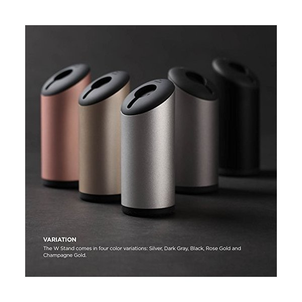 elago W STAND Apple Watch 充電 アルミ スタンド Series 3 / Series 2 / series 1 車載