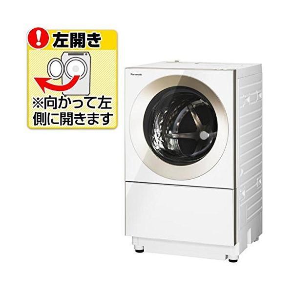 パナソニック 【左開き】10.0kgドラム式洗濯機(3.0kg乾燥付き) Cuble ノーブルシャンパン NA-VG1000L-N|daim-store