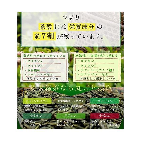 M 5袋セット オーガニック 国産 有機 粉末緑茶 100g×5袋 JAS認定 煎茶100% /セ/|daim-store|03