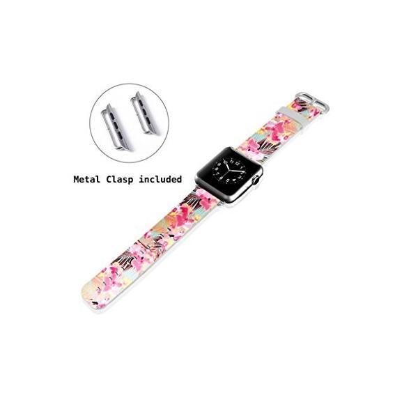 Apple Watchレザーバンド***ViwellクラシックバックルiWatch交換用ストラップfor Apple Smart Watch