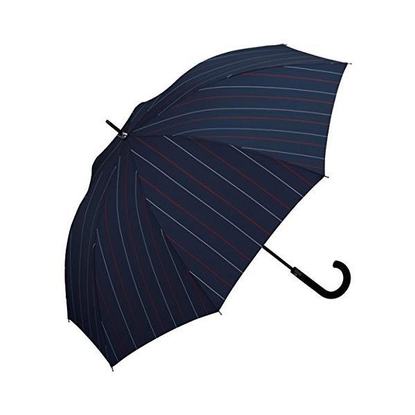 w.p.c(w.p.c) 【耐風】ウィンドレジスタンスアンブレラ(レディース/メンズ/長傘/雨傘)【ストライプ/65】