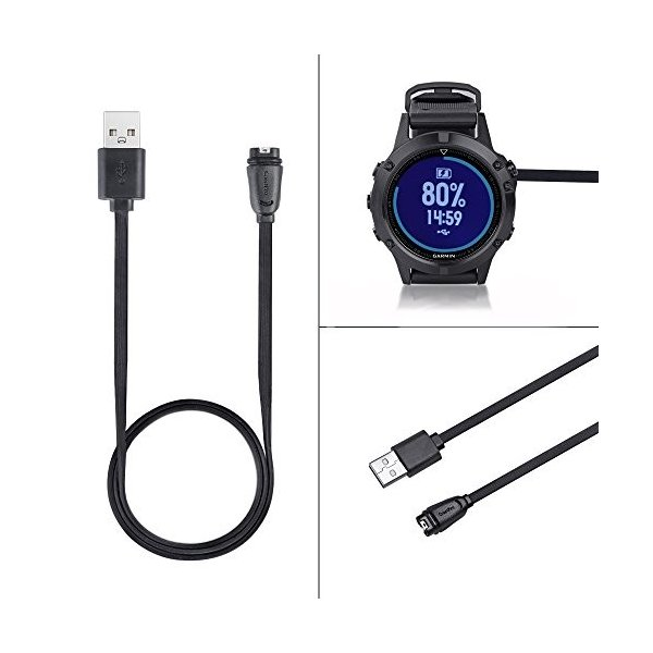 Hzjundasi 置換 USB充電データケーブル 索 コード 線 充電器 電源 80cm for Garmin Fenix 5/Fenix|daim-store|06