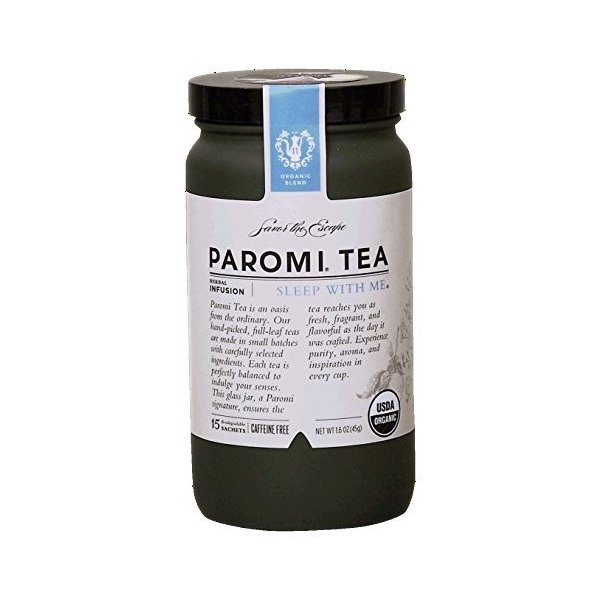 paromi sleep with me caffeine free tea 15ティーバッグ 1 6オンス