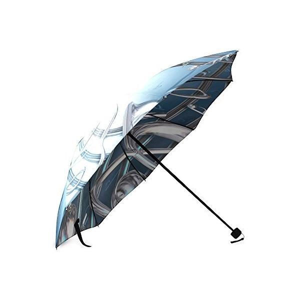 カスタム音楽NOTEコンパクト旅行防風防雨折りたたみ式傘