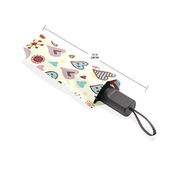 leisisi Leaves Personalizedファッション傘防風折りたたみトラベルコンパクト傘