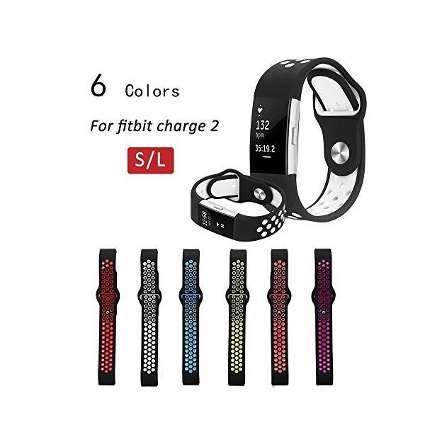 teepao交換バンドS / L Charge 2、クイックリリースソフトシリコンスポーツ腕時計ブレスレットストラップfor Charge