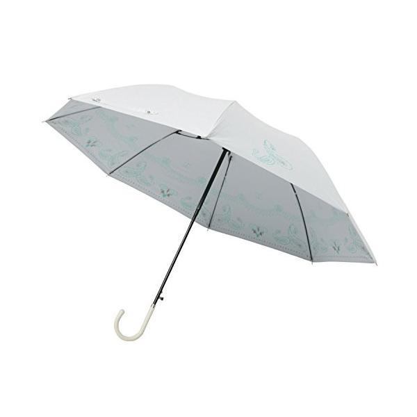 mabu 晴雨兼用 ジャンプ長傘 「 ヒートカット 」 ショートジャンプ ペイズリー