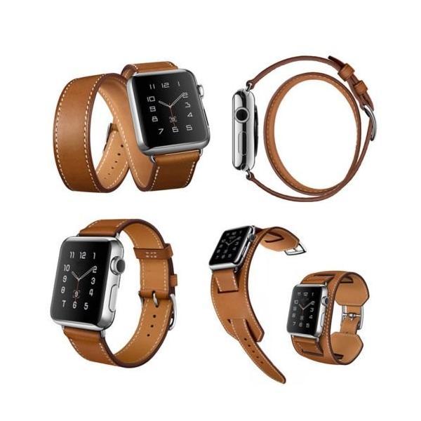 売れ筋商品「Apple Watch/Apple Watch レザーベルト」 SPRING COME* iwatch腕時計 レザーバンド