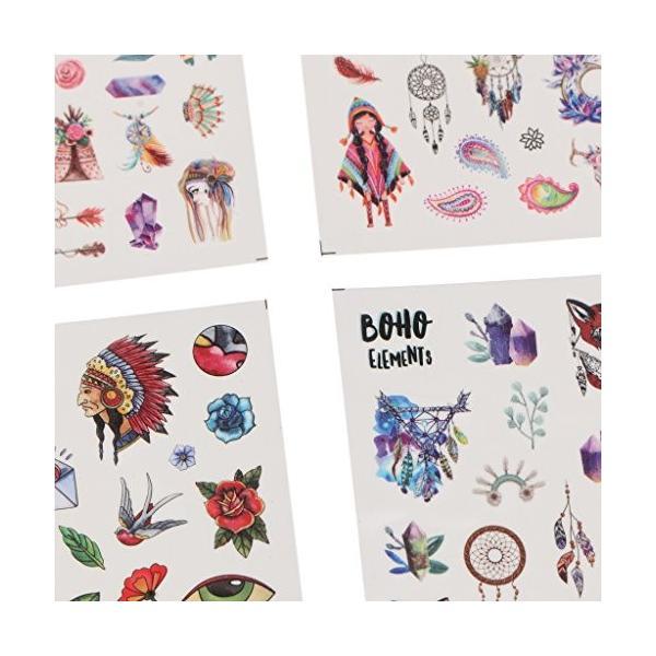 CUTICATE ネイルステッカー ネイルアート 簡単 可愛い 2タイプ選べる 12枚セット - #1|daim-store|03