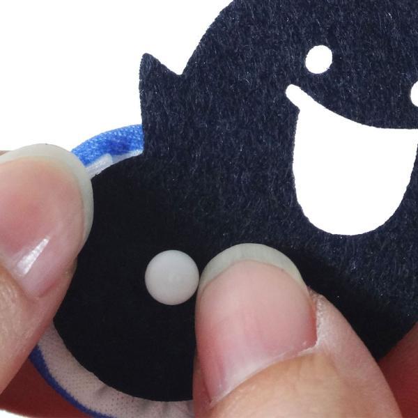 工作・手芸キット くるみボタンで作るハロウィンチャームキット 『あそぼーたん かぼちゃ』  【ネコポス便可能】|daiomfg|04