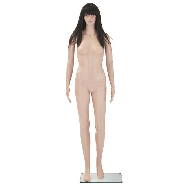 全身マネキン レディースG-7 176cm スキンカラー リアルフェイスタイプ 【9号サイズ】 B83×W62×H85cm 女性用 プラスチック製 店舗 ディスプレイ MK-2727