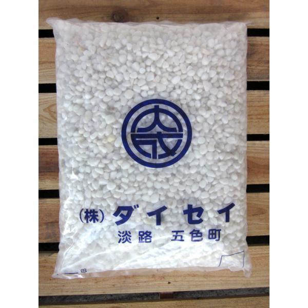 大理石 白玉砂利(白砂利) 20kg袋  7サイズ(6〜80mmまで)【レビューを書いて送料無料】|daiseieco|03