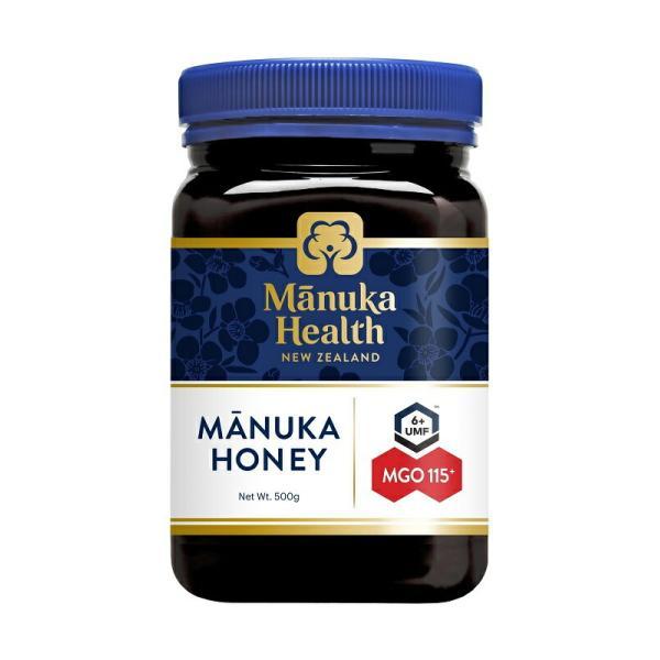 富永貿易 マヌカヘルス MGO115 UMF6 マヌカハニー 500g ニュージーランド産 蜂蜜 ハチミツ【UR】