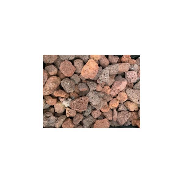 アクアリウム 熱帯魚 溶岩砂利(赤) 小 3kg サイズ:約20mm-30mm 水槽 レイアウト 石 砂利 爬虫類 送料無料【DBA】