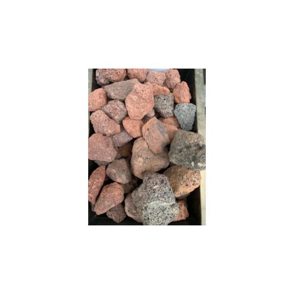 アクアリウム 熱帯魚 溶岩砂利(赤)  大 3kg サイズ:約30mm-80mm 水槽 レイアウト 石 砂利 爬虫類 送料無料【DBA】