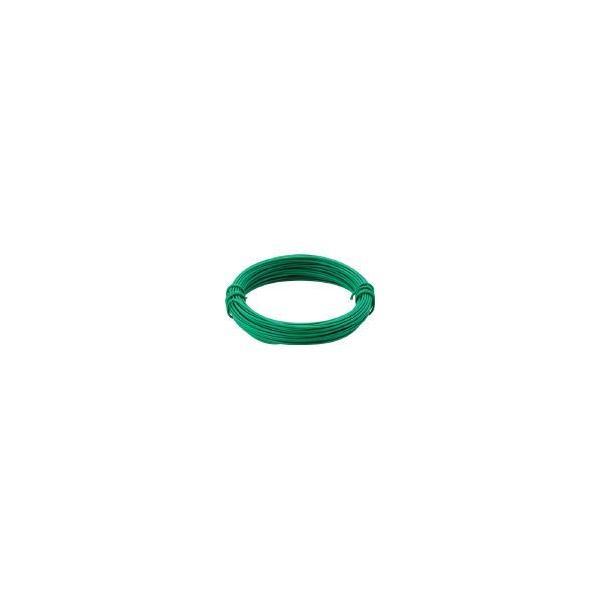 トラスコ中山 カラー針金 小巻タイプ・20番手 緑 線径0.9mm TCWS-09GN [A051403]