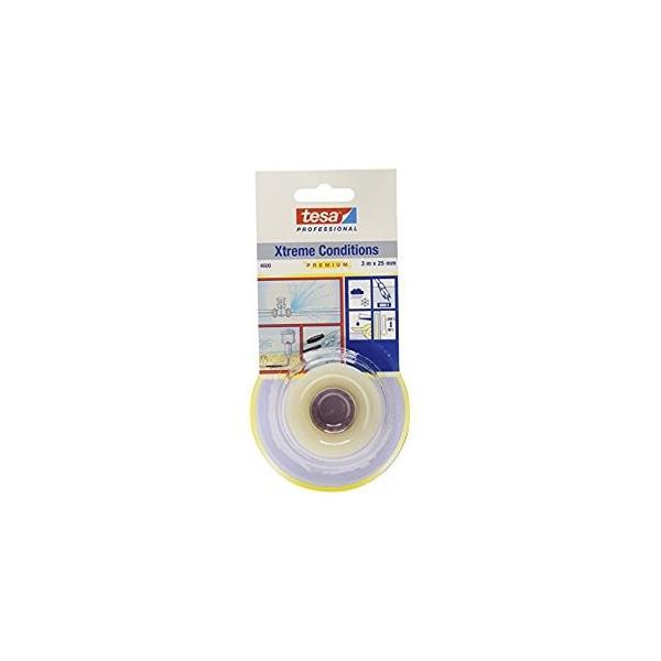 テサテープ 自己融着テープ クリアー 25mmx3m 4600CL-3 [A230101]