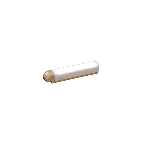 アイリスオーヤマ IRIS 乾電池式屋内センサーライト ウォールタイプ ベージュ BSL40WN-U [E010704]