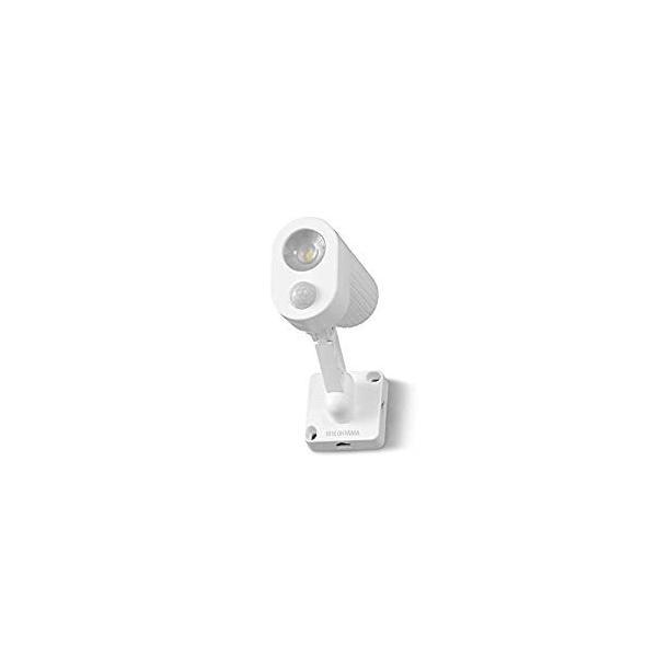 アイリスオーヤマ IRIS 乾電池式LED防犯センサーライト パールホワイト LSL-B3SN-200 [E010704]