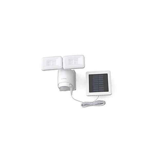 アイリスオーヤマ IRIS ソーラー式LED防犯センサーライト パールホワイト LSL-SBTN-800 [E010705]