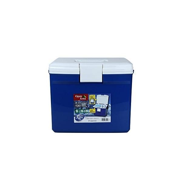 アイリスオーヤマ IRIS クーラーボックス ブルー/ホワイト CL-15 [G010201]