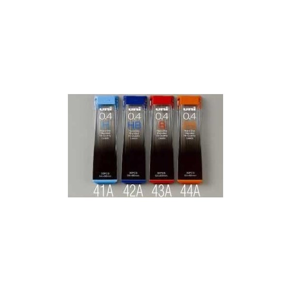 エスコ ESCO 0.4mm[HB]シャープペンシル替芯(30本) EA765MF-42A [I270201]
