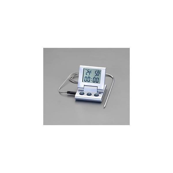 エスコ ESCO 0°/+250℃ デジタル温度計 EA701MC-1 [I110401]