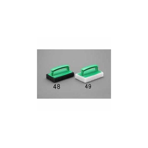 エスコ ESCO 95x150mm ハンドル付たわし(白) EA928AS-49 [I130518]