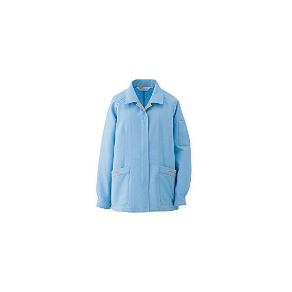 ミドリ安全 ミドリ安全 静電気帯電防止作業服 スモック ブルー サイズ19 VEL73 UE [A060510]