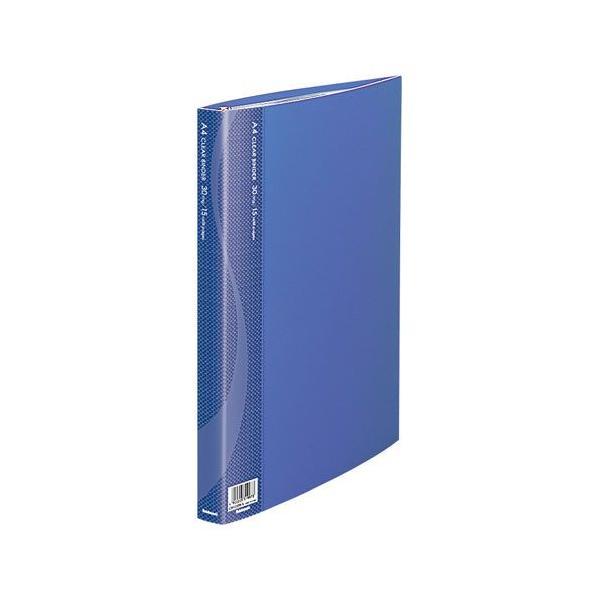 ナカバヤシ クリアバインダーA4判/30穴15P/ブルー CBM1032B-N [F060601]
