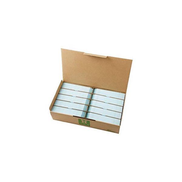 壽堂紙製品 カラー上質長3封筒90g水色〒枠テープ付 [35787] No.10551 [F020318]