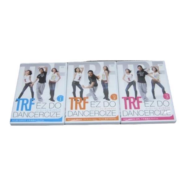 【中古】ショップジャパン TRF イージー・ドゥ・ダンササイズ DVD DISC1-3 全3枚