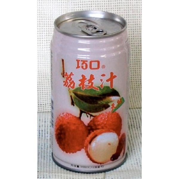 【台湾】 巧口茘枝汁 (ライチジュース) 24缶/箱