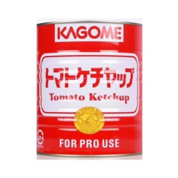 【国産】 カゴメ トマトケチャップ 業務用 赤缶 :6081:食材卸ダイ ...