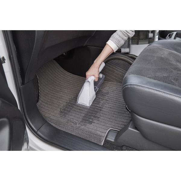 【在庫有】 リンサークリーナー RNS-300 グレー/ホワイト 掃除機 染み抜き カーペット 絨毯 ソファー 布製品専用 温水対応 アイリスオーヤマ|daiyu8-y|02