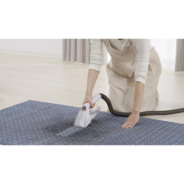 【在庫有】 リンサークリーナー RNS-300 グレー/ホワイト 掃除機 染み抜き カーペット 絨毯 ソファー 布製品専用 温水対応 アイリスオーヤマ|daiyu8-y|03