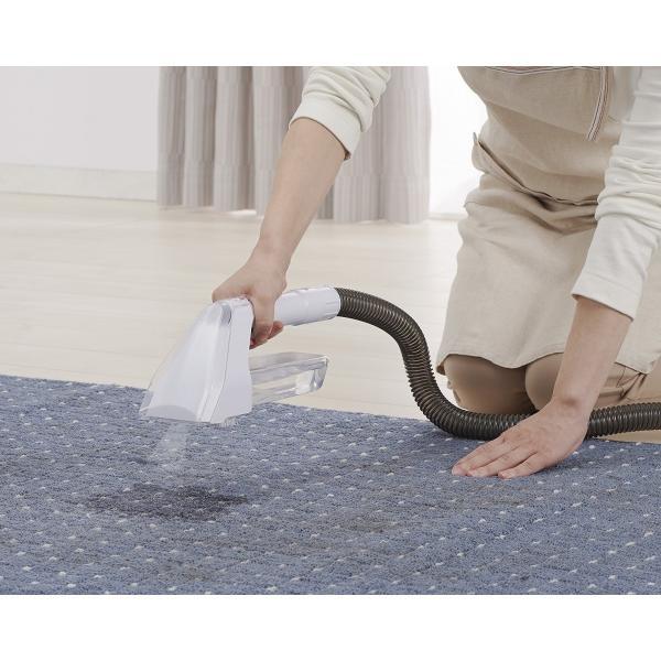 【在庫有】 リンサークリーナー RNS-300 グレー/ホワイト 掃除機 染み抜き カーペット 絨毯 ソファー 布製品専用 温水対応 アイリスオーヤマ|daiyu8-y|05