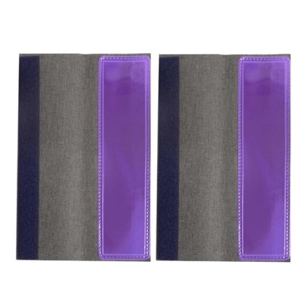 ミズケイ 役立-ツ 4100105 フルハーネス用反射ベルト2枚入 2枚入 紫