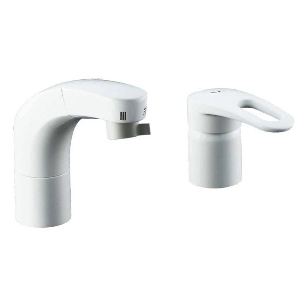LIXIL(リクシル) INAX 洗面器用 ホース引出式シングルレバー混合水栓 エコハンドル 抗菌ハンドル RLF-681Y daiyu8