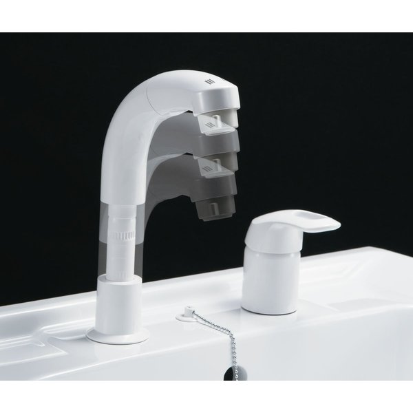 LIXIL(リクシル) INAX 洗面器用 ホース引出式シングルレバー混合水栓 エコハンドル 抗菌ハンドル RLF-681Y daiyu8 05