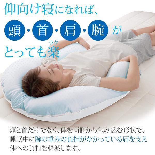 枕 肩こり 首こり クールな抱かれ枕 冷感 クール 冷却 ひんやり 夏 dakaremakura 03