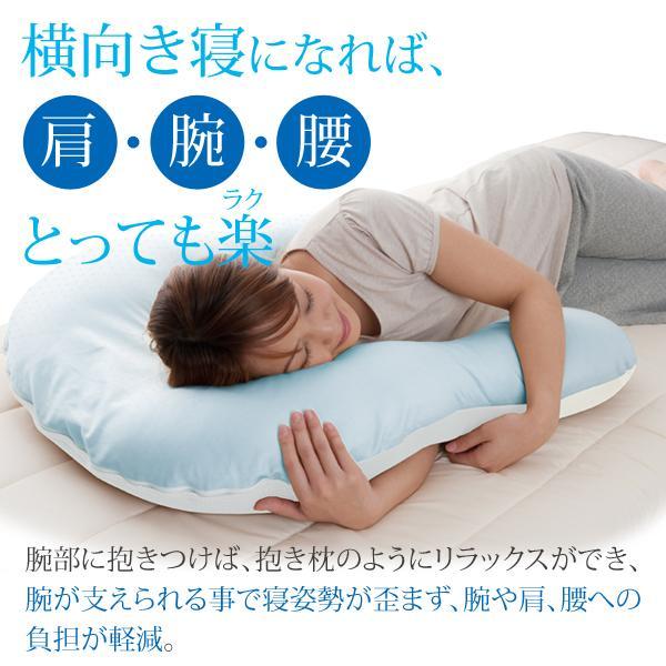 枕 肩こり 首こり クールな抱かれ枕 冷感 クール 冷却 ひんやり 夏 dakaremakura 04