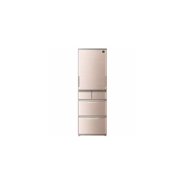 シャープSJW413GT5ドア冷蔵庫(412L・左右フリー)ブラウン系家電:キッチン家電:冷蔵庫・冷凍庫:400L?