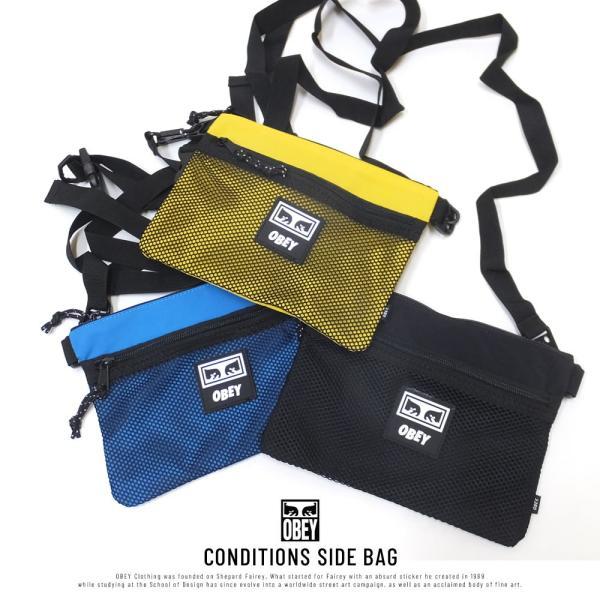 オベイ サコッシュ ショルダーバッグ メンズ レディース OBEY CONDITIONS SIDE BAG 100010110