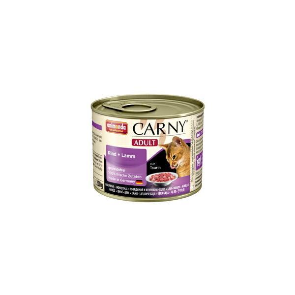 [83705] アニモンダ カーニー ミート  アダルト 牛肉・子羊肉 200g [ キャットフード ウェットフード 成猫用 animonda 猫用 ドイツ キャット ]