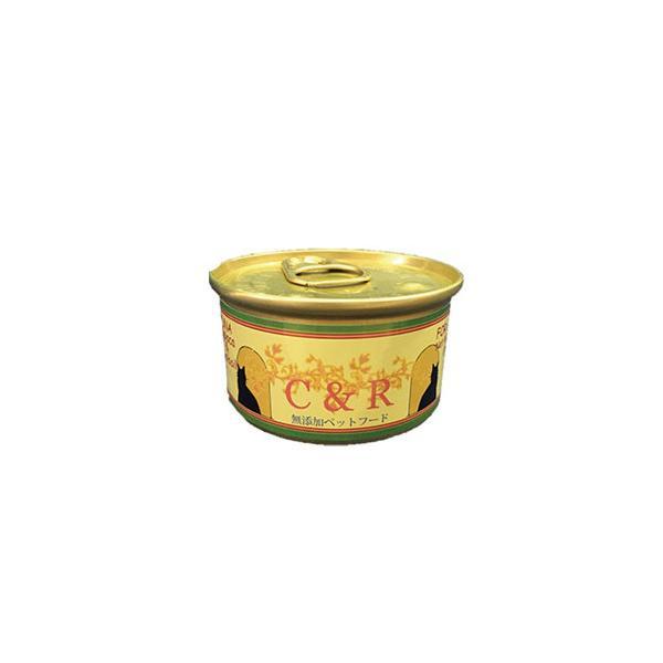 C&R ツナ タピオカ&カノラオイル S 85g [ キャットフード ウェットフード 補助栄養食 缶詰 ]