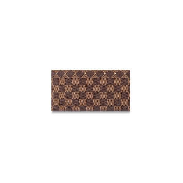 ルイヴィトン財布 レディース長財布 新作新品  N60249 ポルトフォイユ・サラ LOUIS VUITTON かぶせ ダミエアズール 正規ラッピング