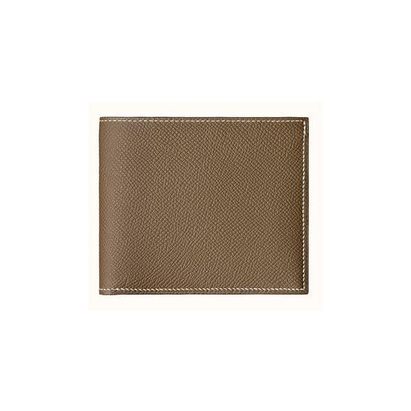 エルメス財布メンズコンパクト財布正規品新品二つ折り財布シチズン・ツイルHERMES正規ラッピング